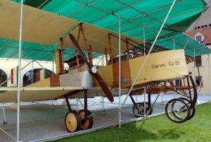 Replika lietadla Caproni, na ktorom v roku 1919 havaroval Milan Rastislav Štefánik