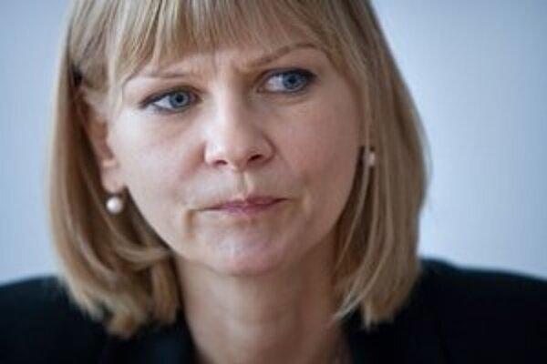 Ministerka zdravotníctva Zuzana Zvolenská kritizuje bývalé vedenie nemocnice.