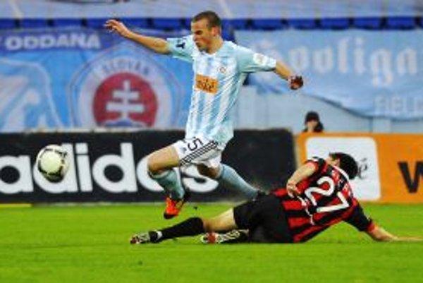 Spartakovci neinkasovali ani v piatom zápase v rade a v derby získali bod.