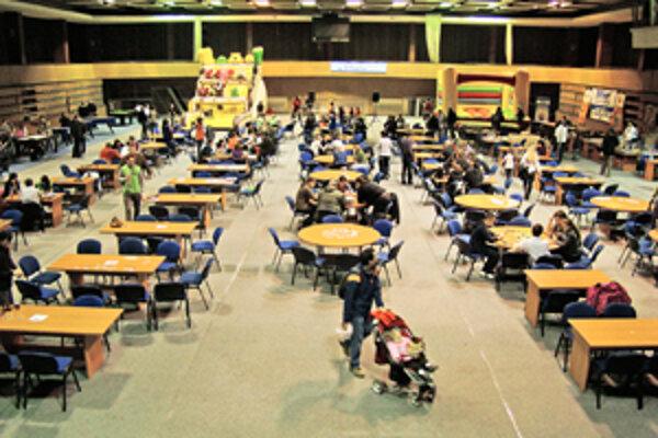 Organizátori podujatia FestHry Trnava 2011 sa tento rok sústredili viac na rodiny s deťmi.