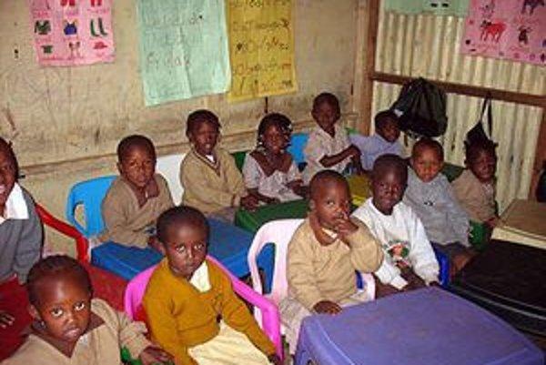 Keňský región Kwale sa vyznačuje vysokým percentom podvýživy detí a ochoreniami, ktoré majú pôvod v chudobe.