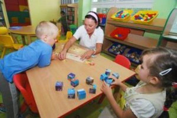 Súkromnej škôlke v Smoleniciach hrozí zánik.