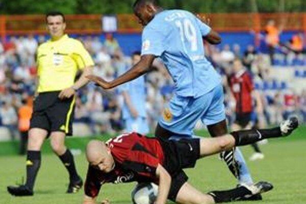 Spartak zahanbujúco vo finále prehral.