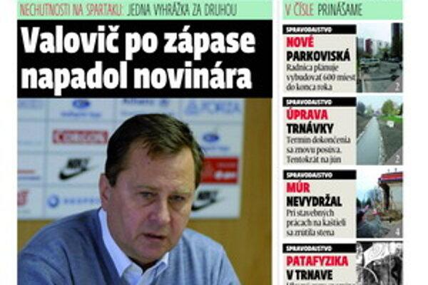 Aktuálne číslo týždenníka MY Trnavské noviny v predaji už od dnes.