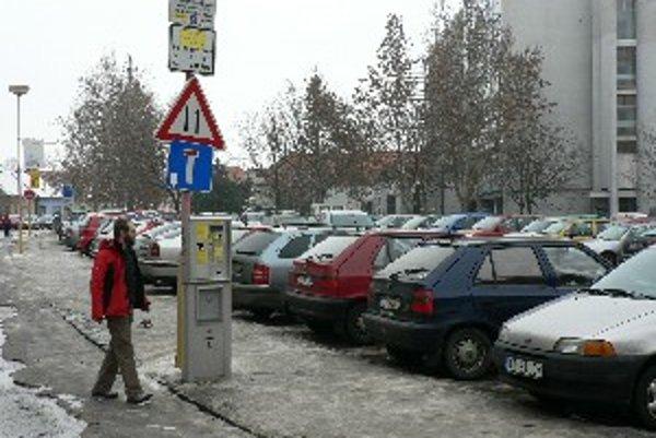 Parkovisko v centre mesta pravdepodobne zmizne.