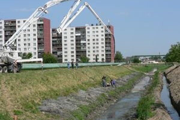 Práce na úprave Trnávky sa začali už v máji.