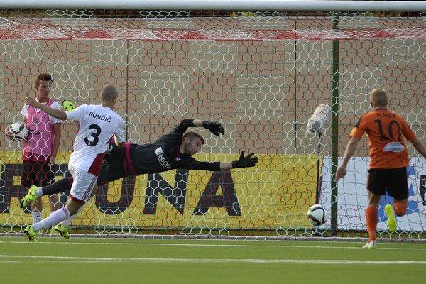 Séria brankára Igora Šemrinca bez inkasovaného gólu sa zastavila na čísle 513.