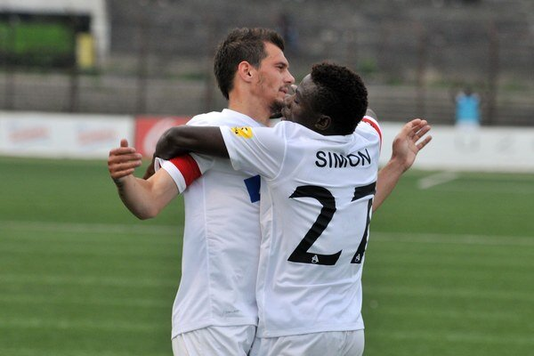 Simon strelil prvý gól Trenčína.