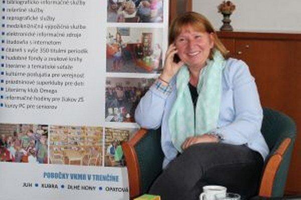 Keleová-Vasilková predstavila v Trenčíne knižnú novinku Julinkina pekáreň.