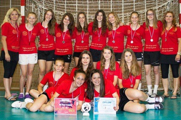Trenčianske dievčatá skončili na finálovom turnaji druhé.