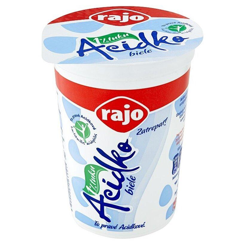 Rajo Acidko Zakysané mlieko s kultúrou Lb. acidophilus so zníženým množstvom tuku 250 g