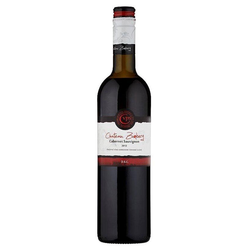 VPS Chateau Zumberg Cabernet sauvignon akostné víno odrodové červené suché 0,75 l