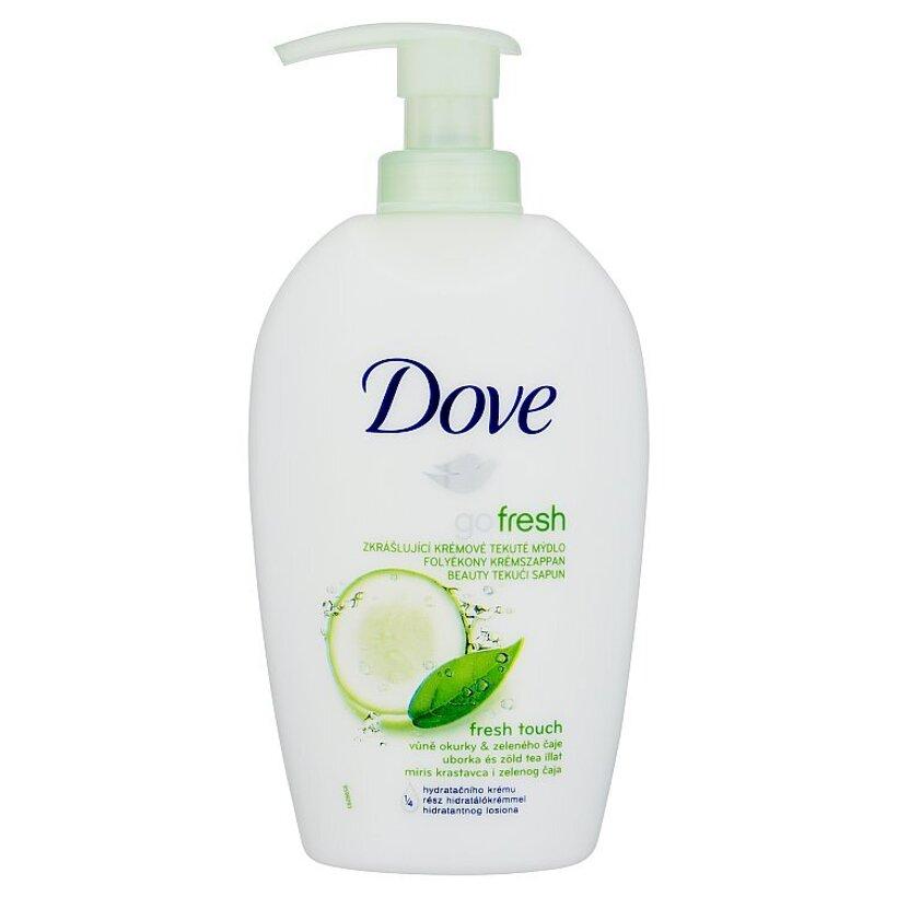 Dove Go Fresh Fresh touch tekuté mydlo uhorka a zelený čaj 250 ml