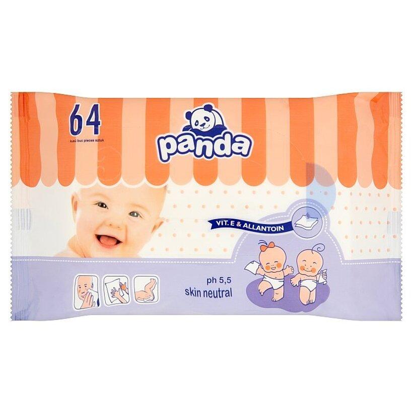 Panda Detské utierky 64 ks