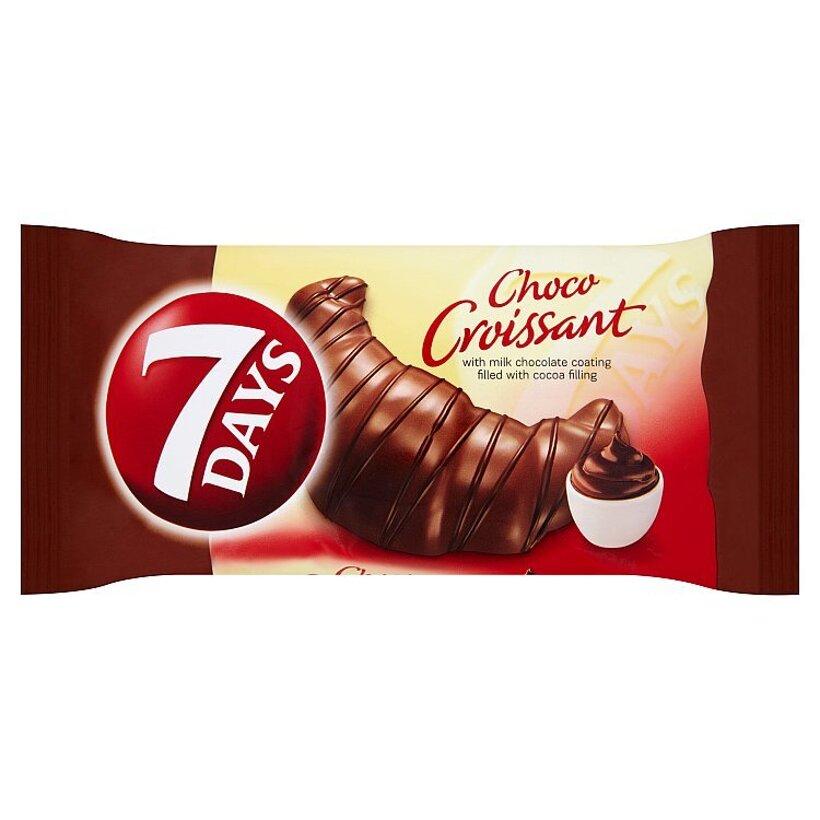 7 Days CHOCO Croissant s kakaovou náplňou a polevou z mliečnej čokolády 60 g