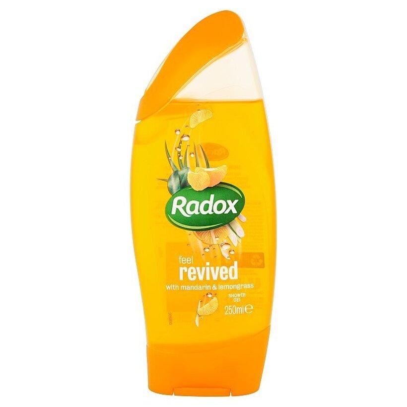 Radox Feel revived mandarin & lemongrass sprchovací gél 250 ml
