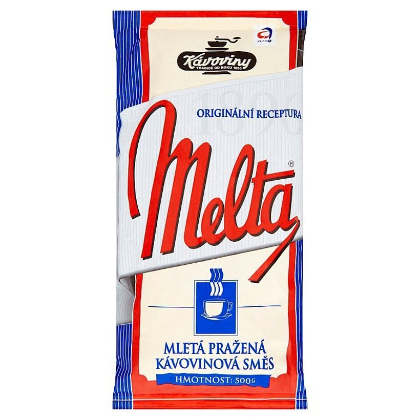Kávoviny Melta mletá pražená kávovinová zmes 500 g