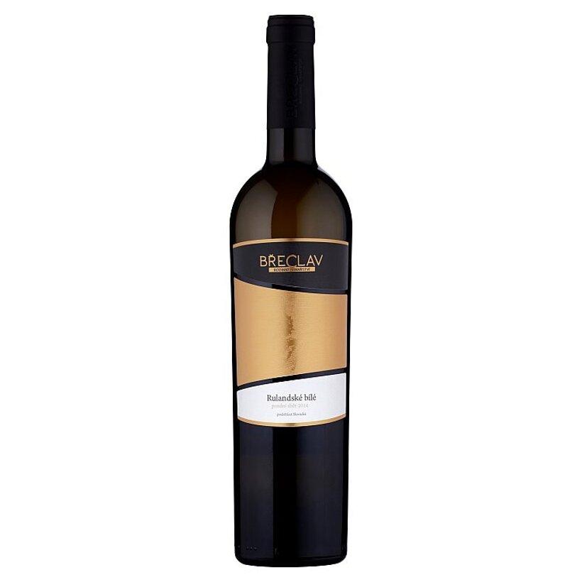 Rodinné Vinařství Břeclav Rulandské biele víno polosuché 0,75 l