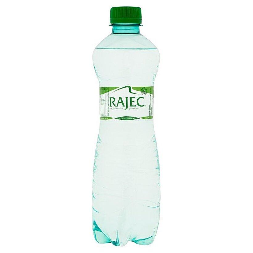 Rajec Pramenitá voda jemne sýtená 0,5 l