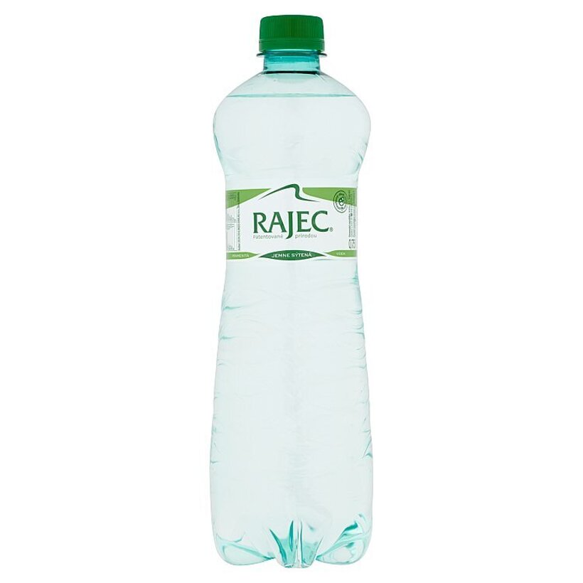 Rajec Pramenitá voda jemne sýtená 0,75 l
