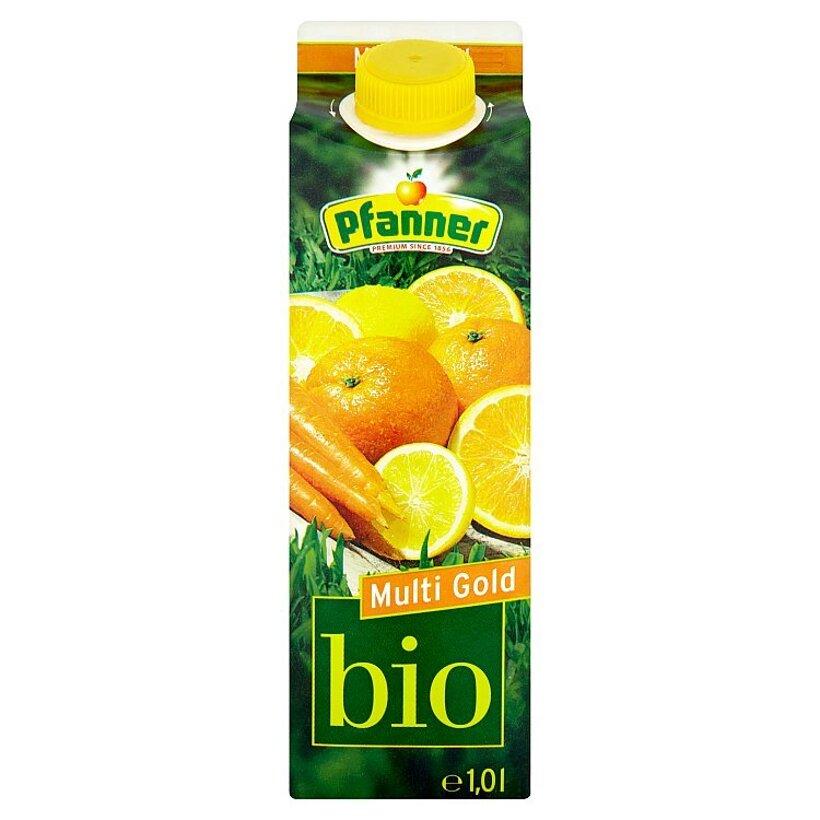 Pfanner Bio Viacdruhový nápoj z ovocného a karotkového koncentrátu 1,0 l