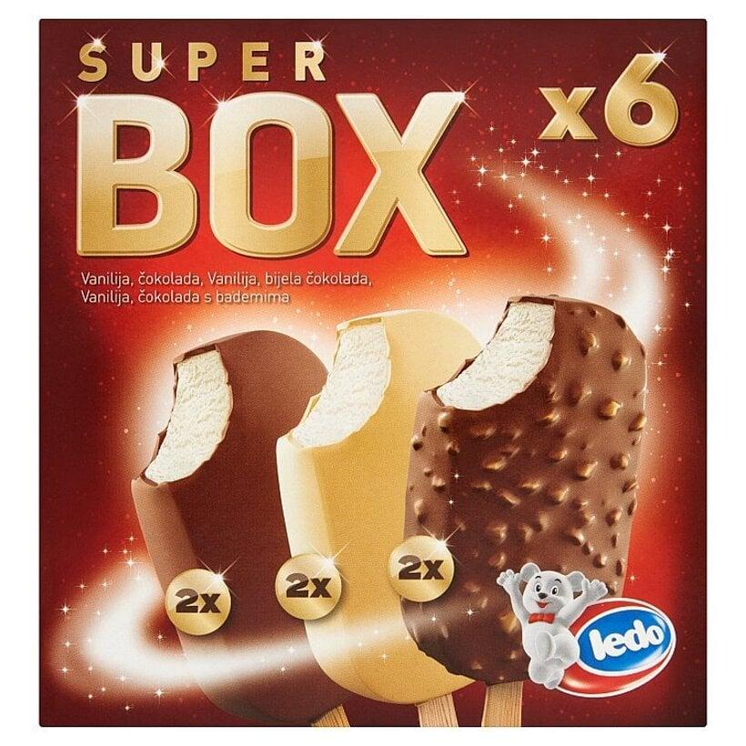 Ledo Super box mrazený krém 6 x 100 ml