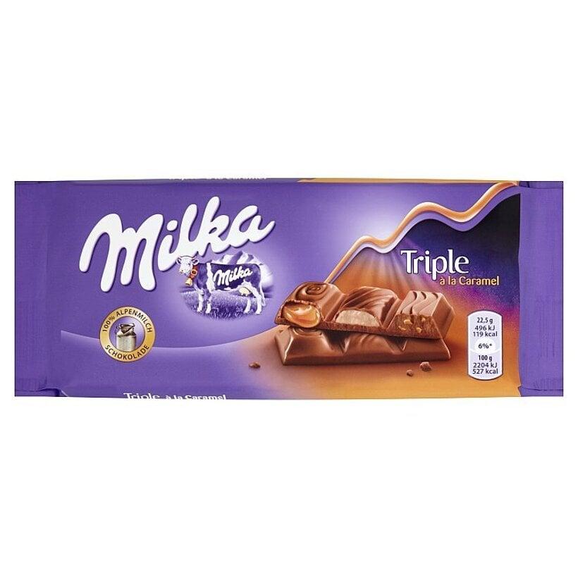 Milka Triple caramel 90 g
