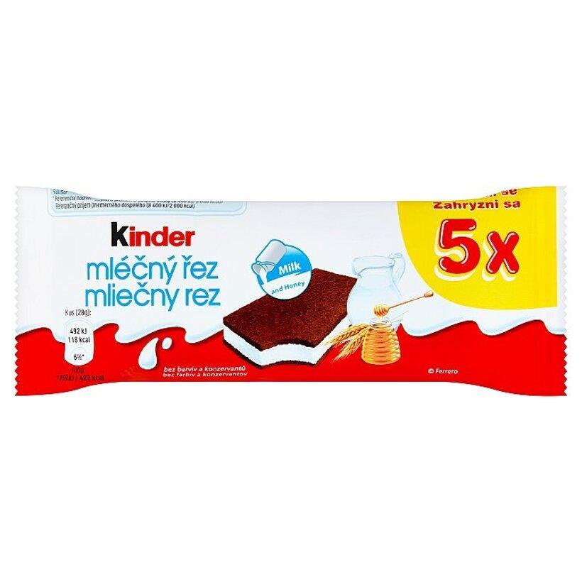 Kinder Mliečny rez 5 x 28 g