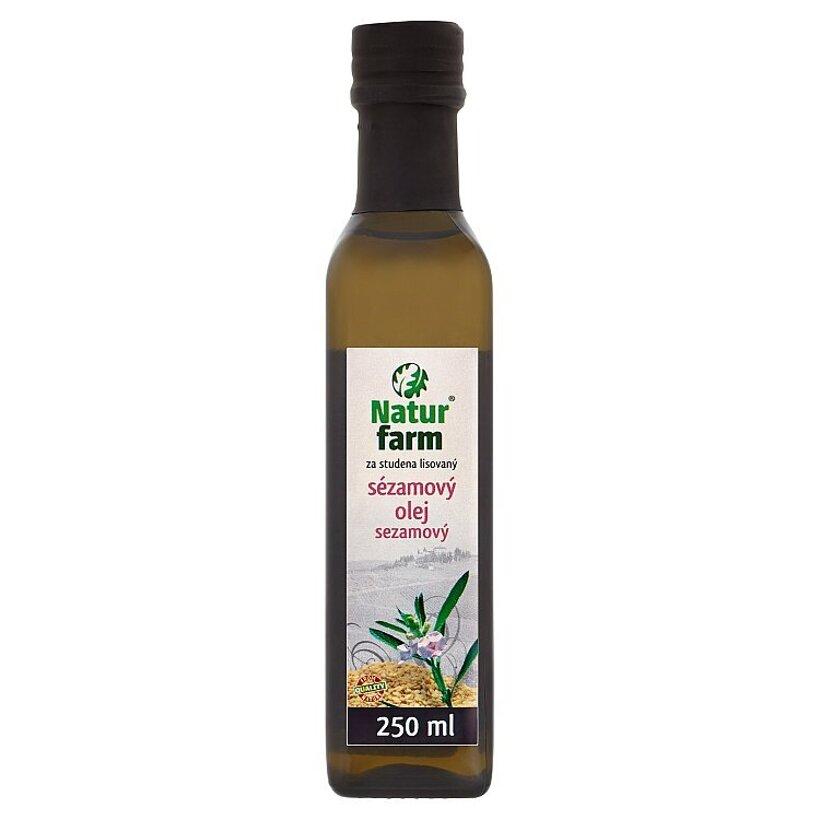 Natur Farm Sezamový olej 250 ml