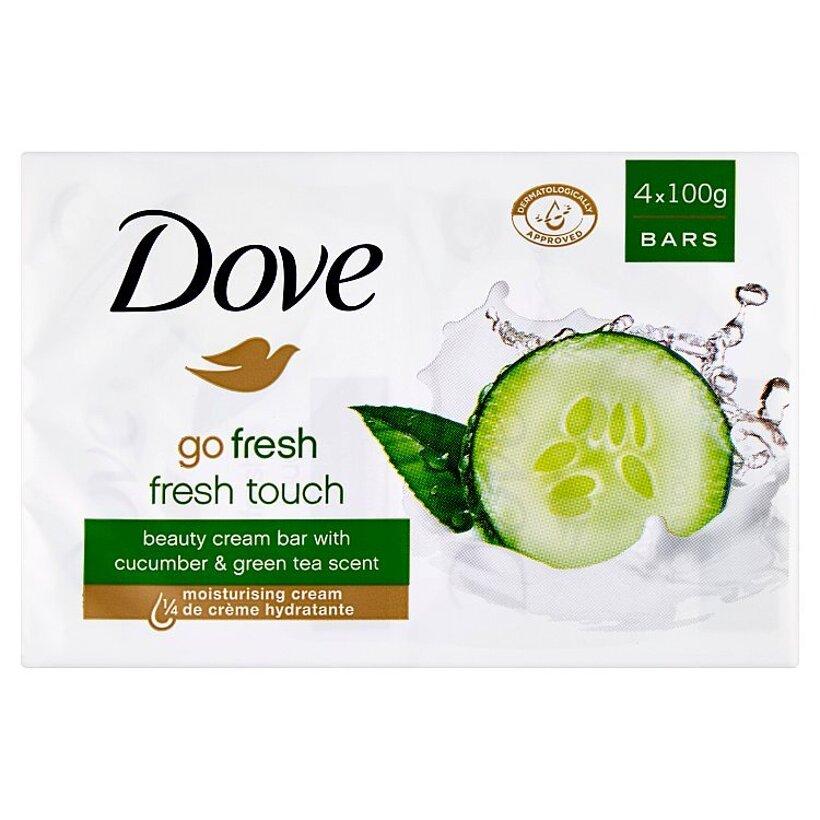 Dove Go Fresh Krémová tableta na umývanie 4 x 100 g