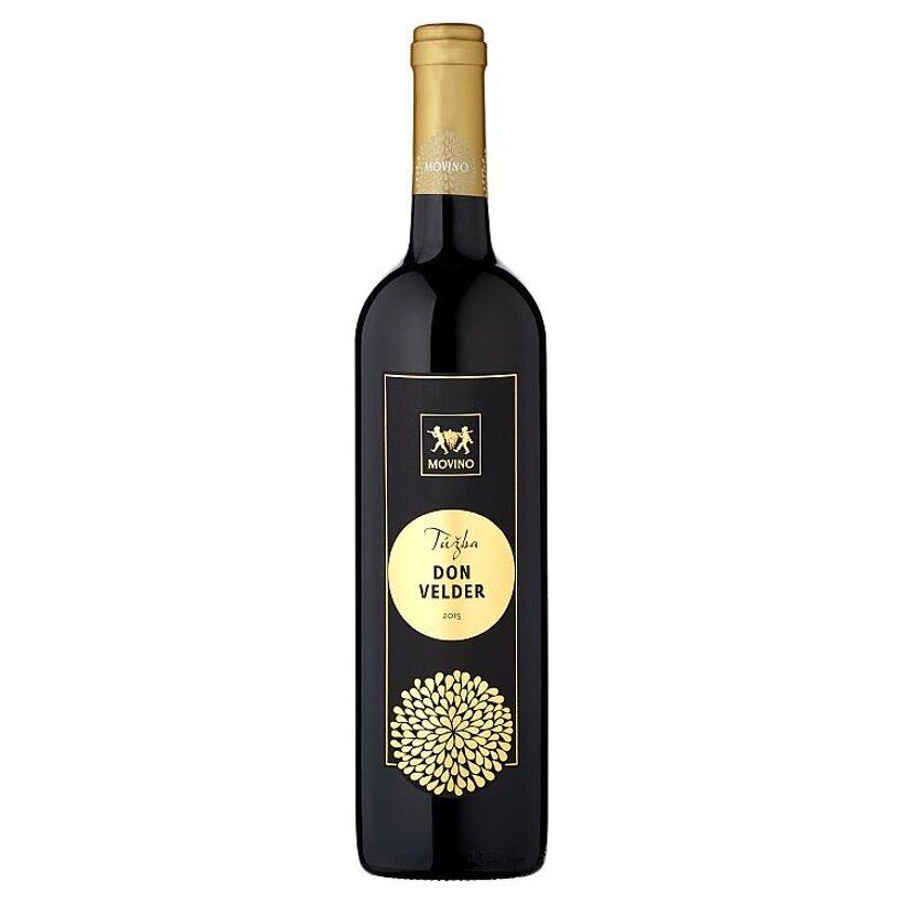 Movino Túžba Don Velder slovenské akostné víno polosuché červené 0,75 l