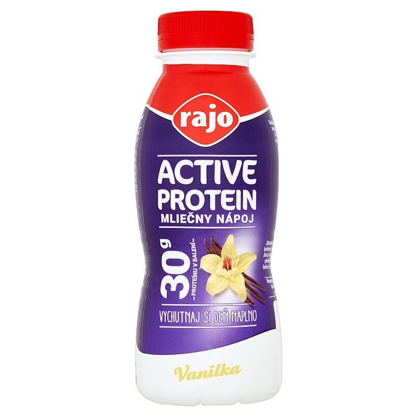 Rajo Active Protein Mliečny nápoj vanilka 330 ml