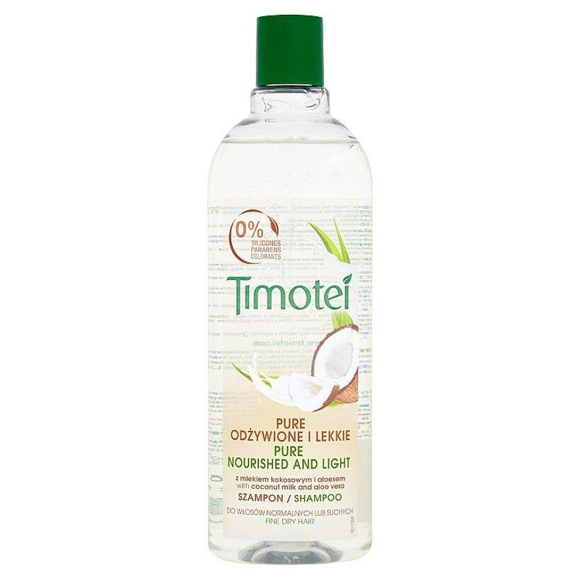 Timotei Výživa a ľahkosť šampón 400 ml