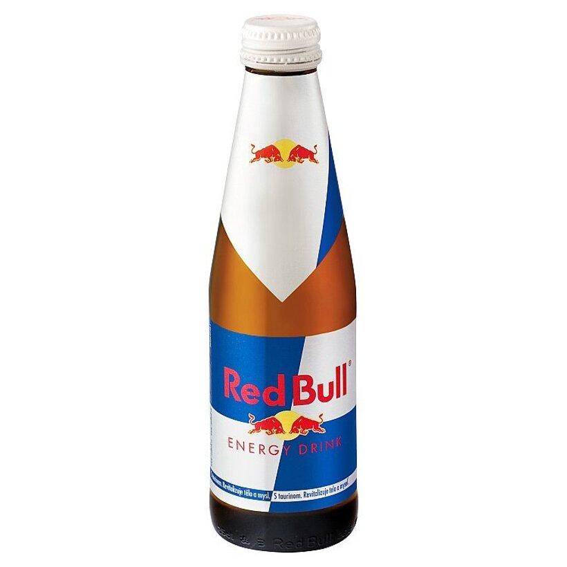 Red Bull Energy drink 250 ml sklo