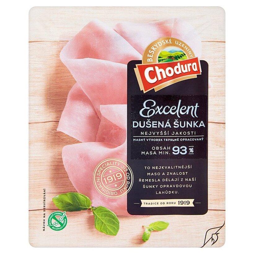 Chodura Excelent dusená šunka 100 g
