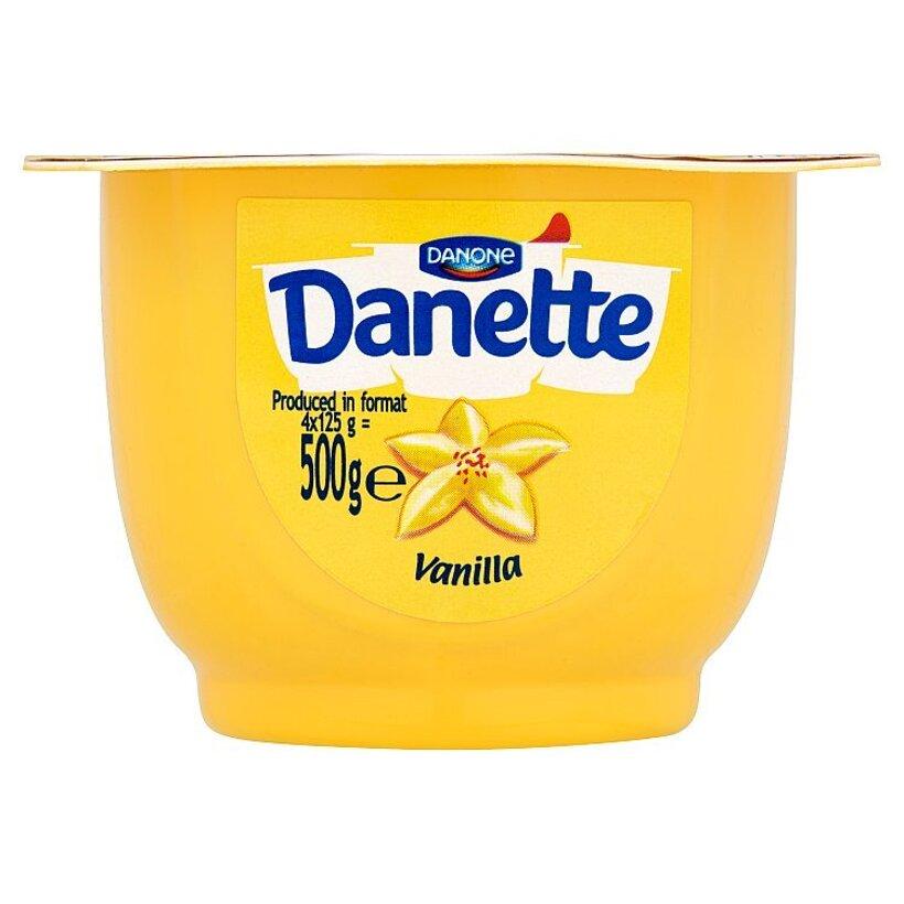 Danone Danette Mliečny dezert s vanilkovou príchuťou 125 g