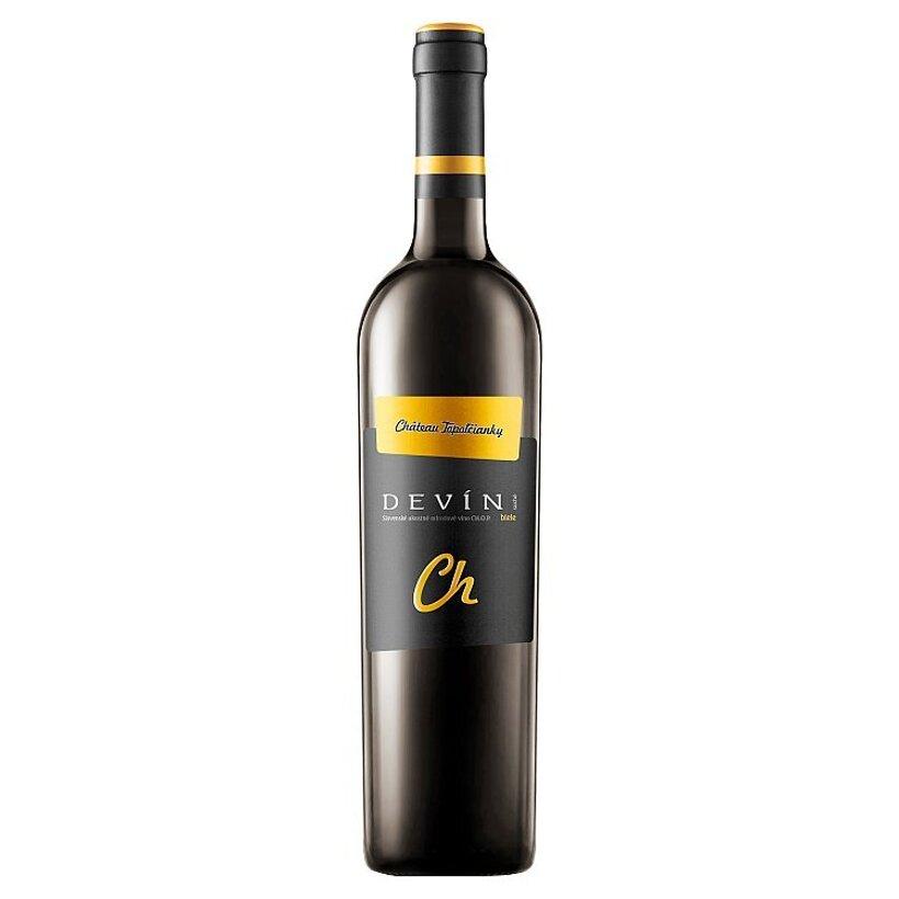 Château Topoľčianky Devín slovenské akostné odrodové víno CH.O.P. suché biele 0,75 l