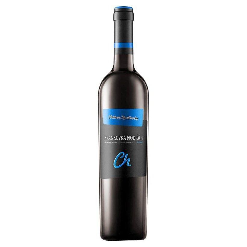 Château Topoľčianky Frankovka modrá akostné odrodové víno CH.O.P. červené suché 0,75 l