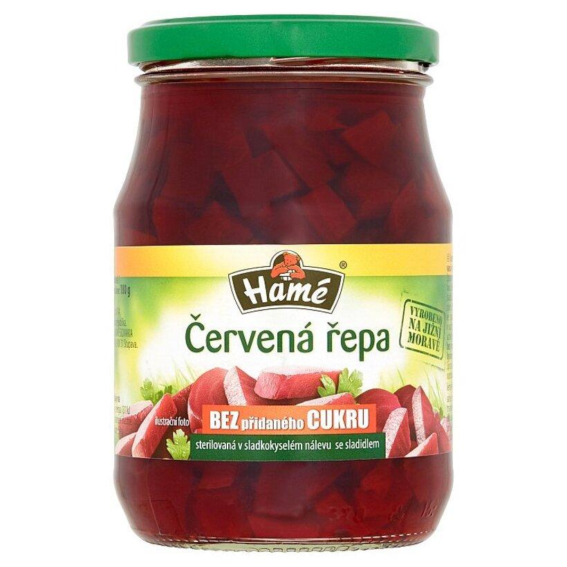 Hamé Červená repa v sladkokyslom náleve so sladidlom 330 g