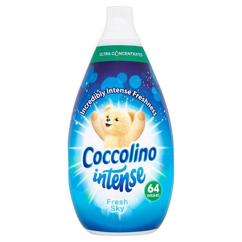 Coccolino Intense Fresh Sky super koncentrovaný avivážny prípravok 64 praní 960 ml
