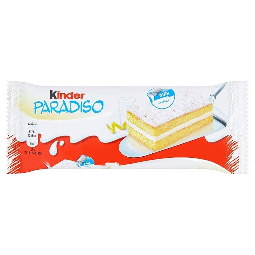 Kinder Paradiso piškótové rezy s mliečnym krémom 29 g