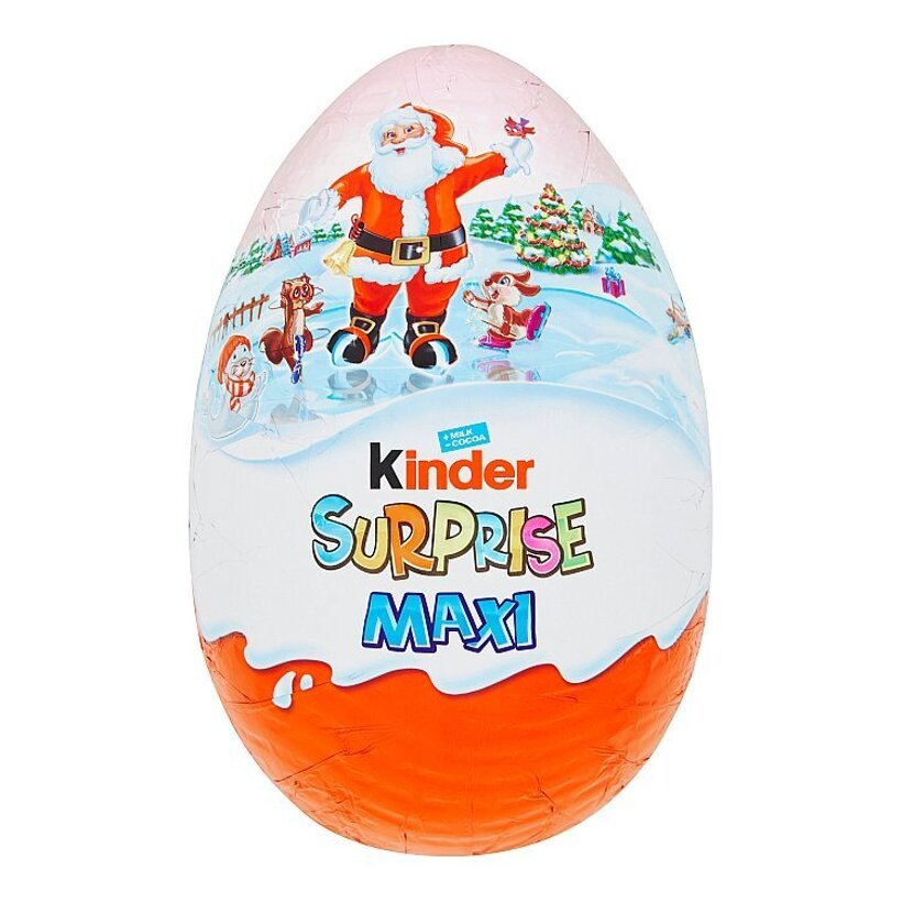 Kinder Surprise Maxi sladké vajce s mliečnou čokoládou s prekvapením  220 g