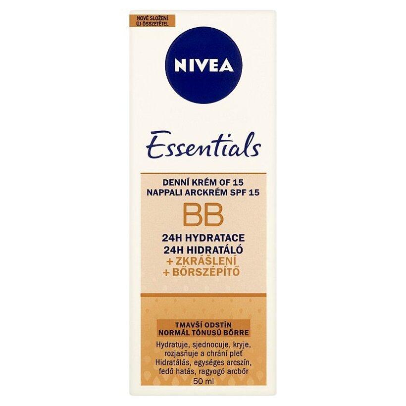 Nivea Essentials BB Denný krém OF 15 tmavší odtieň 50 ml