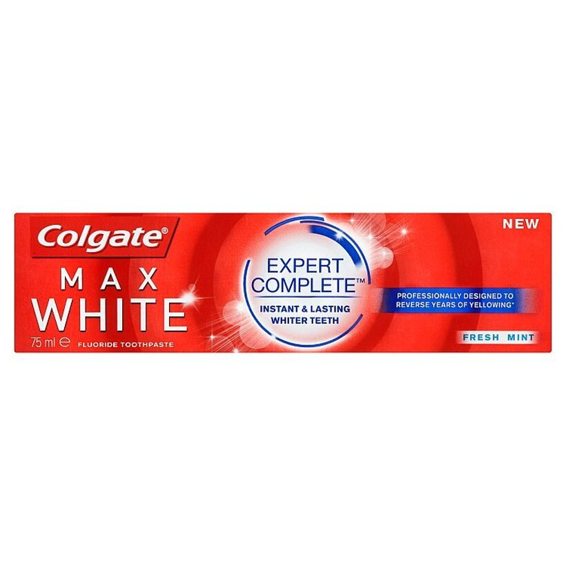 Colgate Max White Expert Complete Fresh Mint zubná pasta 75 ml