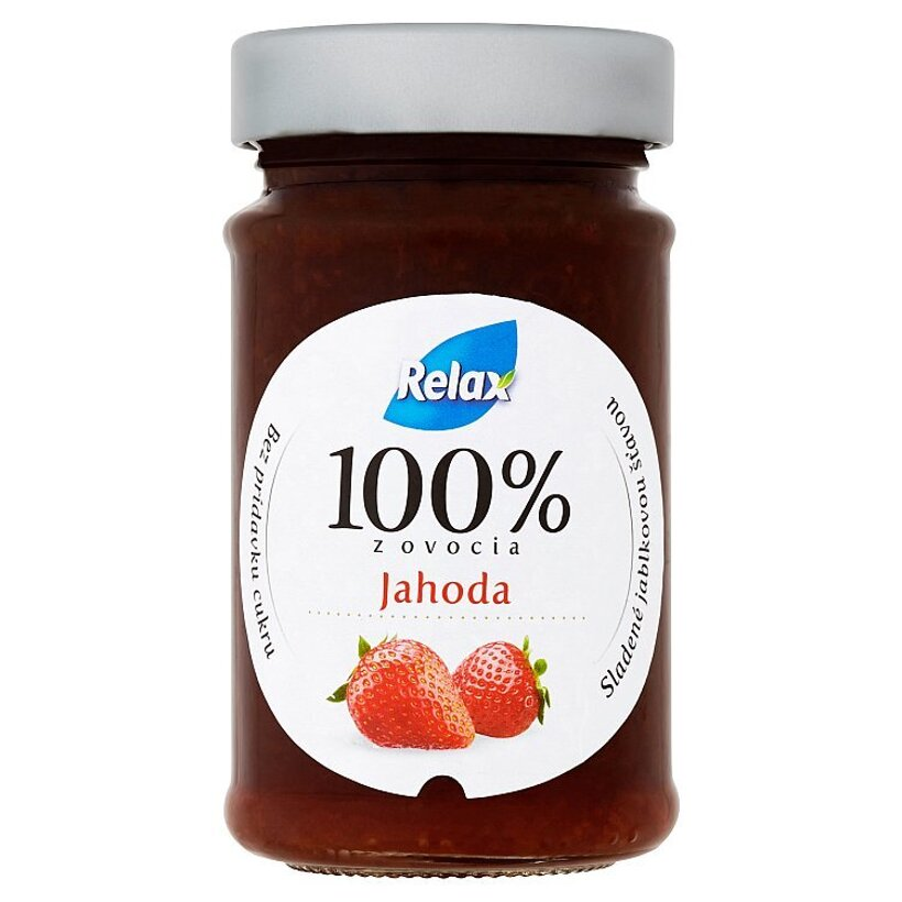 Relax Jahoda ovocná nátierka 220 g