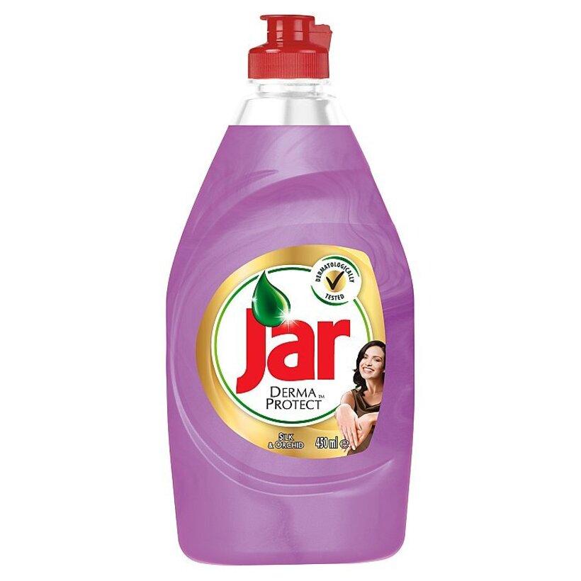 Jar Dermaprotect Silk & Orchid prostriedok na umývanie riadu 450 ml