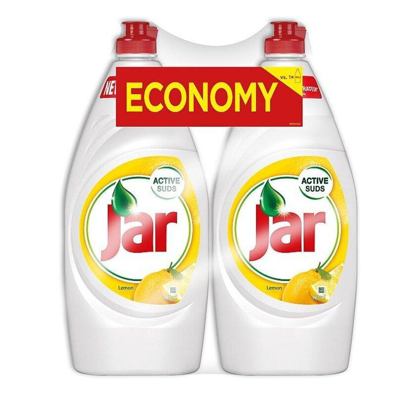 Jar Lemon prostriedok na umývanie riadu 2x900 ml