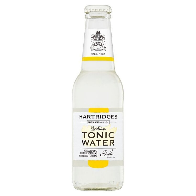 Hartridges Premium Indian Tonic Water 200 ml