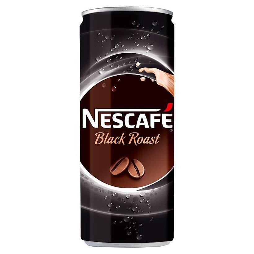 NESCAFÉ Black Roast, ľadová káva, 250 ml