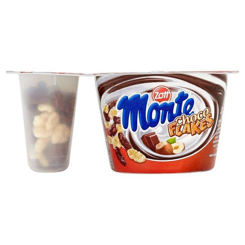 Zott Monte Choco Flakes a Waffle Sticks 125 g